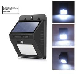 Đèn led cảm biến hồng ngoại năng lượng mặt trời gồm 20-30 mắt led cảm biến 3 chế độ