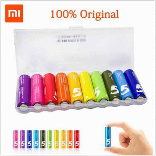 Hộp 10 viên pin tiểu AA số 5 Rainbow Xiaomi - Chính hãng - 11572373 , 17709218 , 15_17709218 , 69000 , Hop-10-vien-pin-tieu-AA-so-5-Rainbow-Xiaomi-Chinh-hang-15_17709218 , sendo.vn , Hộp 10 viên pin tiểu AA số 5 Rainbow Xiaomi - Chính hãng