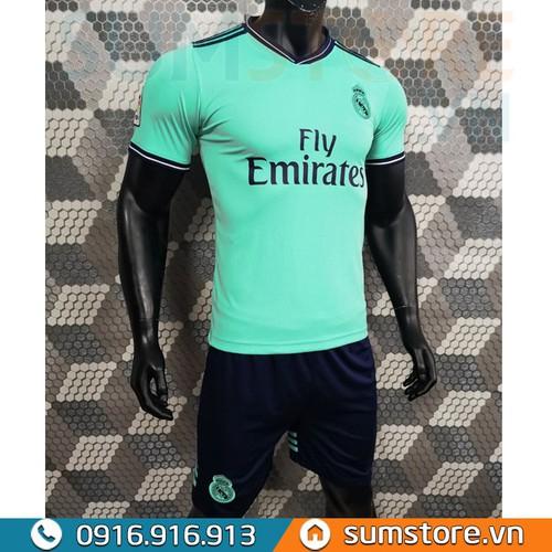 Bộ quần áo đá bóng Real Madrid Xanh Ngọc - Đồ đá banh 2019-2020 - 7693881 , 17706999 , 15_17706999 , 125000 , Bo-quan-ao-da-bong-Real-Madrid-Xanh-Ngoc-Do-da-banh-2019-2020-15_17706999 , sendo.vn , Bộ quần áo đá bóng Real Madrid Xanh Ngọc - Đồ đá banh 2019-2020