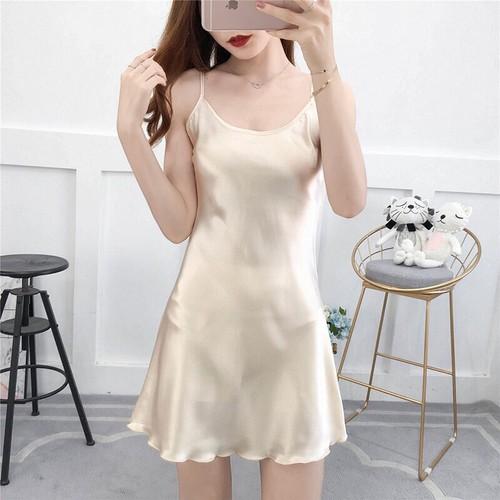 Váy ngủ lụa Hàng Quảng Châu Cao Cấp