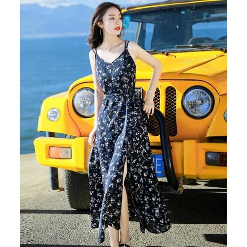 Đầm maxi xẻ đùi hoa nhí Misa Fashion MS322 đi chơi, dự tiệc - 8012804 , 17697015 , 15_17697015 , 360000 , Dam-maxi-xe-dui-hoa-nhi-Misa-Fashion-MS322-di-choi-du-tiec-15_17697015 , sendo.vn , Đầm maxi xẻ đùi hoa nhí Misa Fashion MS322 đi chơi, dự tiệc