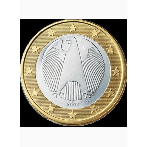 Đồng xu 1 euro Đức - tiền xu sưu tầm - xu may mắn - tiền may mắn