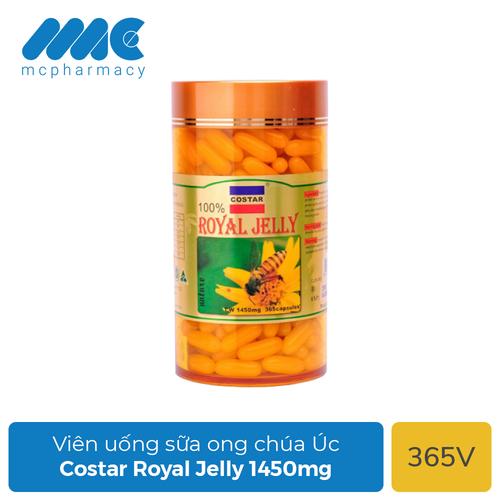 Sữa ong chúa Costar-Royal-Jelly-1450mg - Chai 365 viên - sữa-ong-chúa - sữa-ong-chúa-của-úc - sữa-ong-chúa-costar