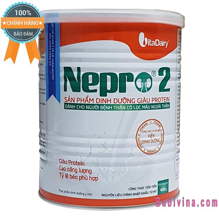 [Cho xem hàng] sữa bột nepro 2 400g