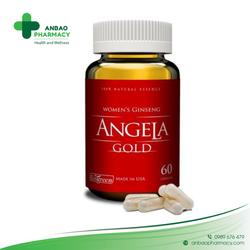 Sâm Angela Gold hộp 60 viên sức khỏe sắc đẹp phụ nữ