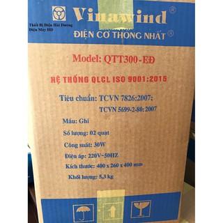 Quạt treo tường Vinawind Thống Nhất QTT300-EĐ [ĐƯỢC KIỂM HÀNG] - 17702091 thumbnail