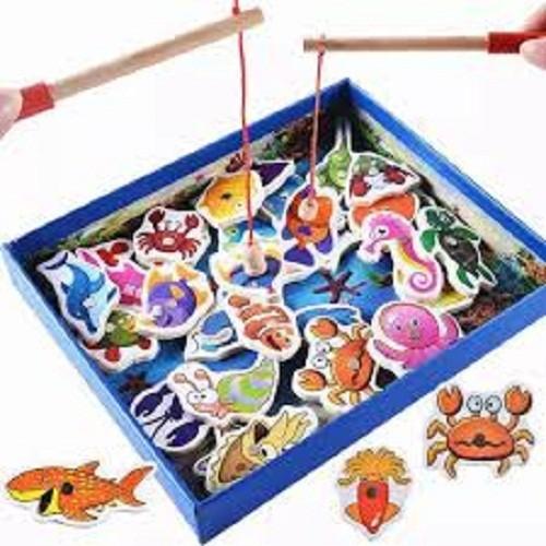 Đồ chơi câu cá nam châm bằng gỗ cho bé | Bộ 32 chi tiết - 7694223 , 17711271 , 15_17711271 , 75000 , Do-choi-cau-ca-nam-cham-bang-go-cho-be-Bo-32-chi-tiet-15_17711271 , sendo.vn , Đồ chơi câu cá nam châm bằng gỗ cho bé | Bộ 32 chi tiết