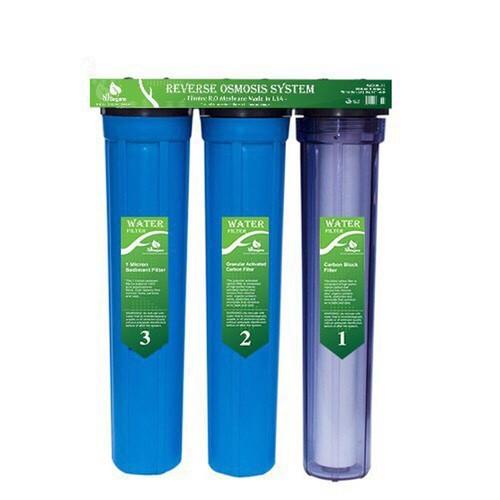 Bộ lọc nước sinh hoạt 3 cấp lọc 20 inch SJ-H20-3TX