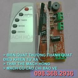 Bo mạch điều khiển quạt điện