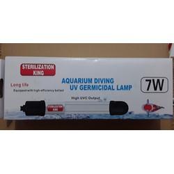 Đèn UV 7w diệt khuẩn diệt rêu hại hồ cá