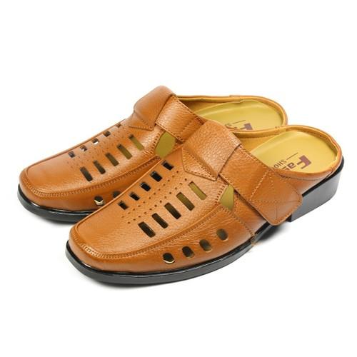Giày Lười Đục Lỗ - Giày Da Thời Trang Nam Thoáng Khí