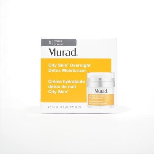 7,5ml-Kem dưỡng thải độc da ban đêm Murad City Skin Overnight Detox Moisturizer fullbox - 8011198 , 17694831 , 15_17694831 , 400000 , 75ml-Kem-duong-thai-doc-da-ban-dem-Murad-City-Skin-Overnight-Detox-Moisturizer-fullbox-15_17694831 , sendo.vn , 7,5ml-Kem dưỡng thải độc da ban đêm Murad City Skin Overnight Detox Moisturizer fullbox