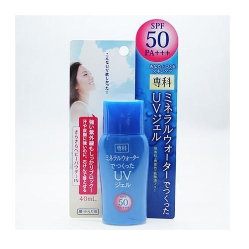 Kem chống nắng Senka Mineral Water UV SPF 50 PA+++ Gel 40ml