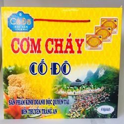 Cơm cháy Cố Đô đặc sản Ninh Bình xách 4 hộp - Vườn Đặc Sản
