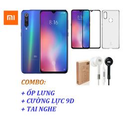 Điện thoại Xiaomi Mi 9 SE 64GB Ram 6GB + Ốp lưng + Cường lực 9D Full màn + Tai nghe - Hàng nhập khẩu - mi 9 se 6/64 okt