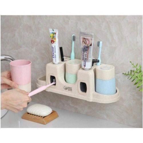 Dụng cụ nhà kem đánh răng tự động
