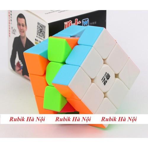 Rubik 3x3x3 Qiyi Warrior W Stickerless - 7694231 , 17711281 , 15_17711281 , 70000 , Rubik-3x3x3-Qiyi-Warrior-W-Stickerless-15_17711281 , sendo.vn , Rubik 3x3x3 Qiyi Warrior W Stickerless
