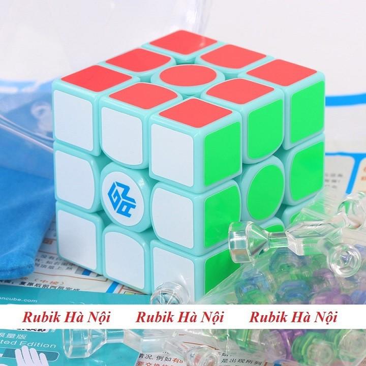 Rubik 3x3 C4U Vuông White Có Nam Châm. Rubik luyện Finger Tri s FT Tốt Nhất [ĐƯỢC KIỂM HÀNG] - SHOPBAN6795VN 2