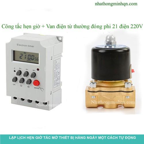 Bộ công tắc hẹn giờ và van điện từ phi 21 đồng thau - 7598561 , 17727243 , 15_17727243 , 362000 , Bo-cong-tac-hen-gio-va-van-dien-tu-phi-21-dong-thau-15_17727243 , sendo.vn , Bộ công tắc hẹn giờ và van điện từ phi 21 đồng thau