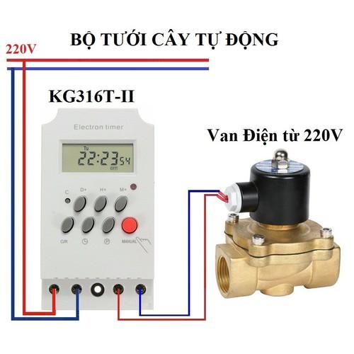 Bộ tưới cây tự động thông minh gồm công tắc KG316T và van Phi 21 - 8105814 , 17739003 , 15_17739003 , 345000 , Bo-tuoi-cay-tu-dong-thong-minh-gom-cong-tac-KG316T-va-van-Phi-21-15_17739003 , sendo.vn , Bộ tưới cây tự động thông minh gồm công tắc KG316T và van Phi 21