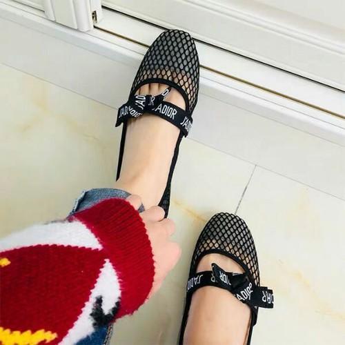 giày búp bê lưới