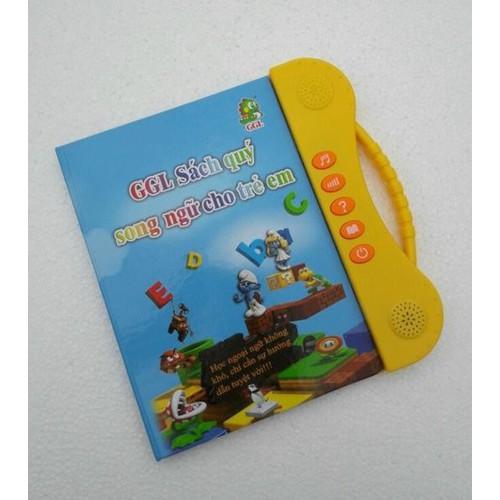 sách điện tử thông minh song ngữ cho bé