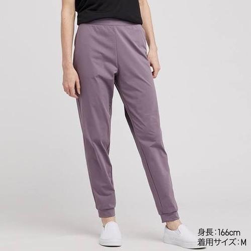 Quần jogger công nghệ làm mát nữ màu 73 Purple mã 413835 - hàng nhập Nhật