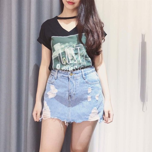 Chân váy jean nữ  dễ thương - 4921701 , 17734483 , 15_17734483 , 135000 , Chan-vay-jean-nu-de-thuong-15_17734483 , sendo.vn , Chân váy jean nữ  dễ thương