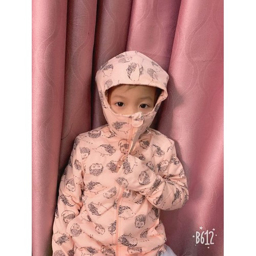 Áo chống nắng cotton 2 lớp cho bé