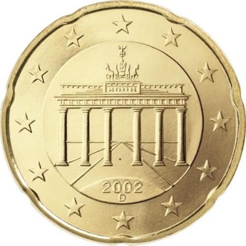 Đồng xu 20 euro Đức - tiền xu may mắn - tiền may mắn - xu may mắn