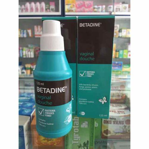 Betadine vaginal rửa phụ khoa 125ml - 4923665 , 17737045 , 15_17737045 , 55000 , Betadine-vaginal-rua-phu-khoa-125ml-15_17737045 , sendo.vn , Betadine vaginal rửa phụ khoa 125ml
