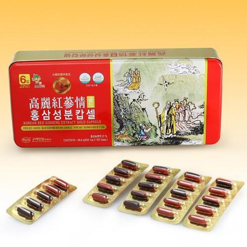Viên Hồng sâm nhung linh chi KGS Hàn Quốc hộp 120 viên, giúp bồi bổ khí huyết tốt cho người sức khỏe kém lao lực mệt mỏi ốm lâu ngày hay yếu sinh lý. - 4918539 , 17725153 , 15_17725153 , 1090000 , Vien-Hong-sam-nhung-linh-chi-KGS-Han-Quoc-hop-120-vien-giup-boi-bo-khi-huyet-tot-cho-nguoi-suc-khoe-kem-lao-luc-met-moi-om-lau-ngay-hay-yeu-sinh-ly.-15_17725153 , sendo.vn , Viên Hồng sâm nhung linh chi KG