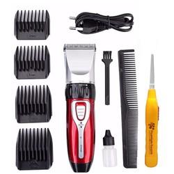 Tông đơ cắt tóc cạo râu gia đình Jichen 0817 tặng dụng cụ lấy ráy tai có đèn