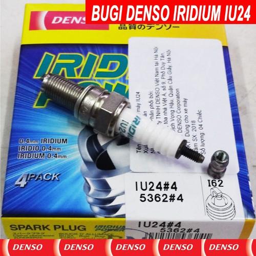Bugi bạch kim cho hoanda airblade 125 - denso iridium power iu24