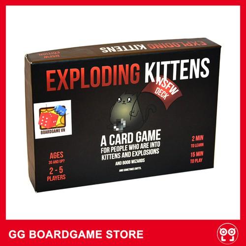 Trò Chơi Boardgame Mèo Nổ : Exploding Kittens phiên bản tiếng anh