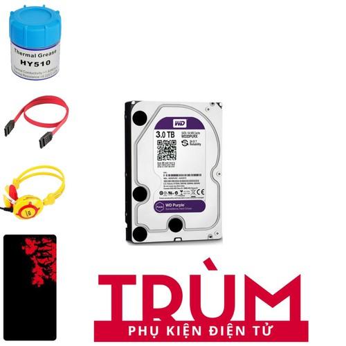 Ổ cứng gắn trong HDD Western Purple 3TB SATA 6Gbs + Quà Tặng - 8070212 , 17724657 , 15_17724657 , 3248500 , O-cung-gan-trong-HDD-Western-Purple-3TB-SATA-6Gbs-Qua-Tang-15_17724657 , sendo.vn , Ổ cứng gắn trong HDD Western Purple 3TB SATA 6Gbs + Quà Tặng