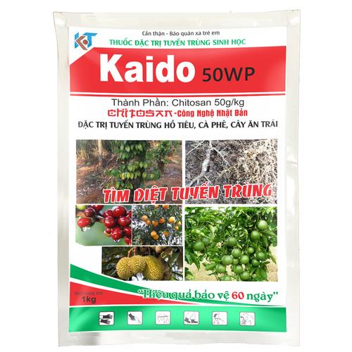 Thuốc đặc trị tuyến trùng tuyến trùng sinh học ứng dụng cho nông nghiệp sạch và nông nghiệp hữu cơ - KAIDO 50WP