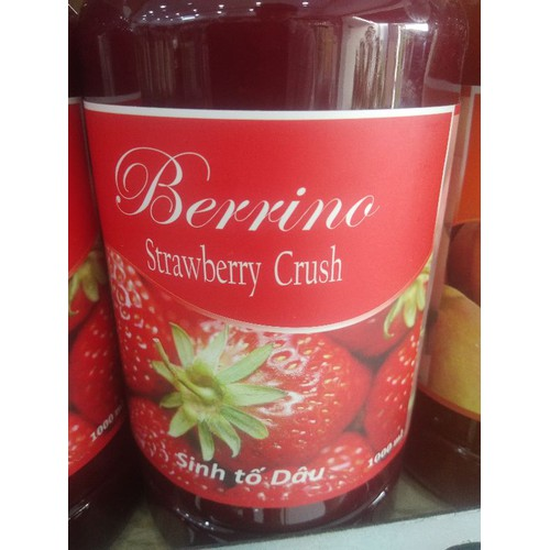 mứt berrino dâu 1l