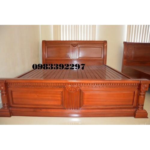 giường ngủ gỗ gụ - td - 8102795 , 17737702 , 15_17737702 , 20000000 , giuong-ngu-go-gu-td-15_17737702 , sendo.vn , giường ngủ gỗ gụ - td