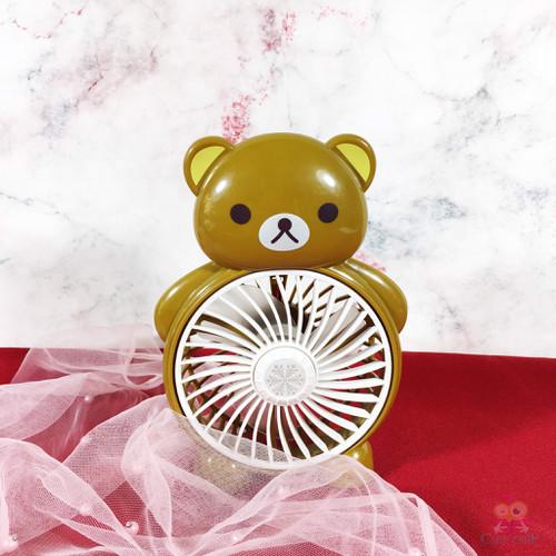 Quạt Mini Để Bàn Hình Gấu Nâu Quạt Giá Siêu Hạt Dẻ