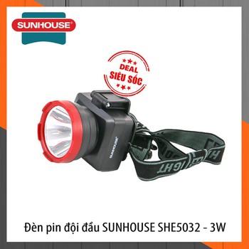 e5dc4256 Ha Thy Mart: Đèn Pin Đội Đầu SUNHOUSE Siêu Sáng Cỡ Trung - SHE5032 ...