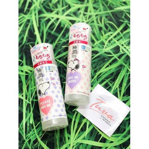 Nươc hoa hồng dưỡng trắng dưỡng ẩm Hada Labo Nhật