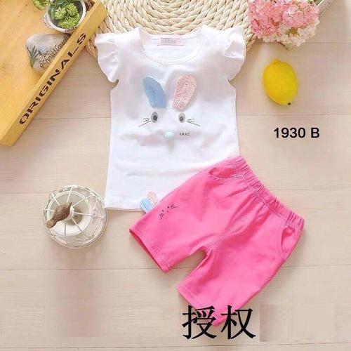 Bộ quần áo chất cotton cho bé từ 5 đến 19kg - Mẫu 174