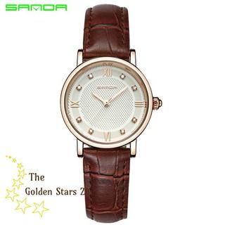 đồng hồ nữ dây da - đồng hồ nữ dây da GS4 thumbnail