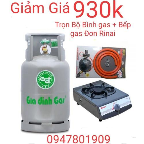 Bộ Bình gas Bếp gas đơn Rinai - 7599370 , 17733595 , 15_17733595 , 930000 , Bo-Binh-gas-Bep-gas-don-Rinai-15_17733595 , sendo.vn , Bộ Bình gas Bếp gas đơn Rinai