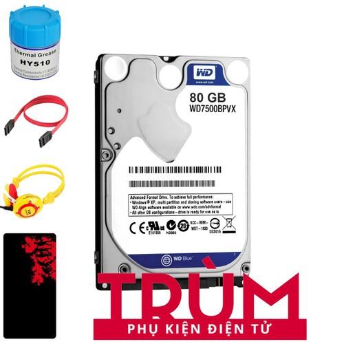 Ổ cứng gắn trong dành cho Laptop HDD Western Blue 80GB SATA 6Gbs + Quà Tặng - 8075371 , 17726773 , 15_17726773 , 568500 , O-cung-gan-trong-danh-cho-Laptop-HDD-Western-Blue-80GB-SATA-6Gbs-Qua-Tang-15_17726773 , sendo.vn , Ổ cứng gắn trong dành cho Laptop HDD Western Blue 80GB SATA 6Gbs + Quà Tặng