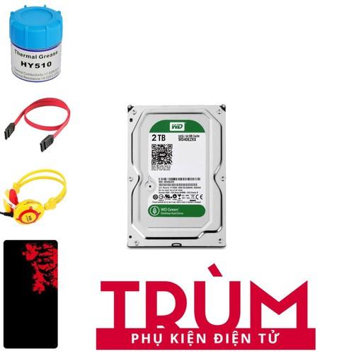 Ổ cứng gắn trong HDD Western Green 2TB SATA 6Gbs + Quà Tặng - 7598176 , 17724372 , 15_17724372 , 2438500 , O-cung-gan-trong-HDD-Western-Green-2TB-SATA-6Gbs-Qua-Tang-15_17724372 , sendo.vn , Ổ cứng gắn trong HDD Western Green 2TB SATA 6Gbs + Quà Tặng