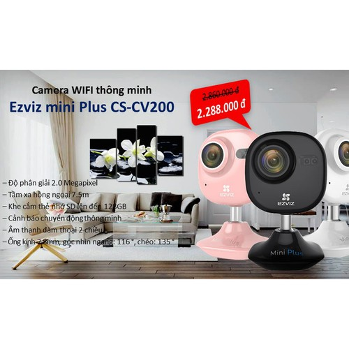 Camera IP EZVIZ CS-CV200 chống ngược sáng + tặng thẻ 32GB - 4919159 , 17727744 , 15_17727744 , 2860000 , Camera-IP-EZVIZ-CS-CV200-chong-nguoc-sang-tang-the-32GB-15_17727744 , sendo.vn , Camera IP EZVIZ CS-CV200 chống ngược sáng + tặng thẻ 32GB