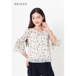 De Leah - Áo Croptop Tay Chuông - Thời trang thiết kế