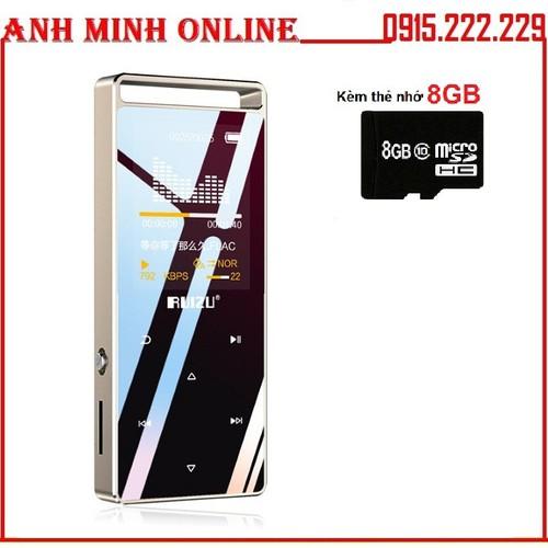 Máy nghe nhạc Lossless thể thao HiFi Ruizu D01 8GB + Thẻ Nhớ 8GB - 11575959 , 17727392 , 15_17727392 , 610000 , May-nghe-nhac-Lossless-the-thao-HiFi-Ruizu-D01-8GB-The-Nho-8GB-15_17727392 , sendo.vn , Máy nghe nhạc Lossless thể thao HiFi Ruizu D01 8GB + Thẻ Nhớ 8GB